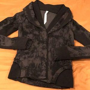 Lululemon Athletica double shawl collar jacket